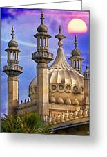 Domes In The Sunset Greeting Card
