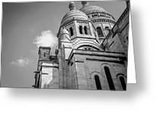 Domes Of Sacre Coeur Greeting Card
