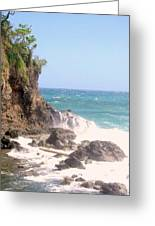 Dominica North Atlantic Coast Greeting Card