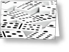 Dominoes II Greeting Card