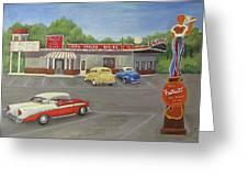 Don Carlos Drive Inn Greeting Card