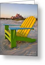 Don Cesar And Beach Chair Greeting Card
