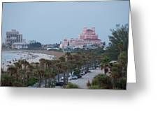 Don Cesar Hotel St Pete Beach Florida Greeting Card