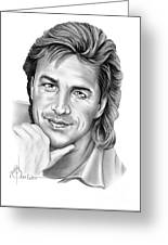 Don Johnson Greeting Card