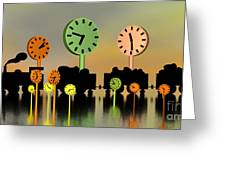 Don't Hurry Greeting Card