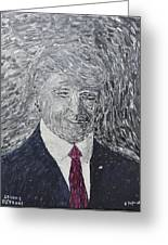 Donald J. Trump  Greeting Card