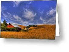 Done With Harvest Greeting Card