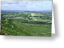 Donegal Patchwork Farmland Greeting Card