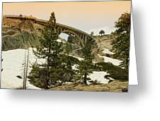 Donner Greeting Card