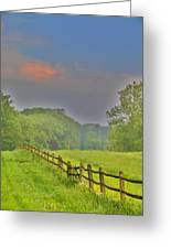 Dont Fence Me In Greeting Card