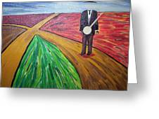 Don't Lose Your Soul At The Crossroads Greeting Card by Otis L Stanley