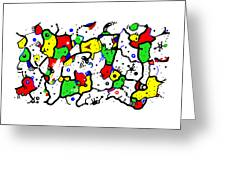 Doodle Abstract Greeting Card