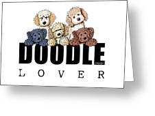 Doodle Lover Greeting Card