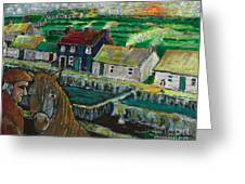 Doolin Ireland Sunset Greeting Card