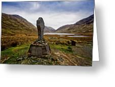 Doolough Famine Memorial Cross Greeting Card