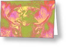 Doom 3 Resurrection Of Evil Greeting Card