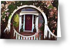 Door From A Dream Greeting Card