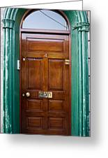 Door In Ireland Greeting Card