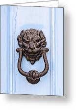 Door Knobs Of The World 38 Greeting Card