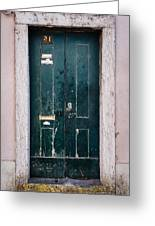 Door No 21 Greeting Card