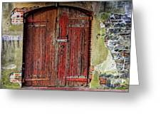 Door To Discovery Greeting Card