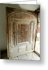 Door To Feudal Times Greeting Card