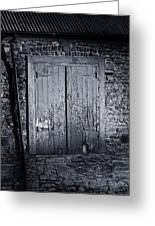 Door To Nowhere Blarney Ireland Greeting Card