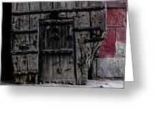 Door Within A Door Greeting Card