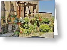 Little Paradise In Tuscany/italy/europe Greeting Card