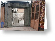 Doors And More Doors Greeting Card