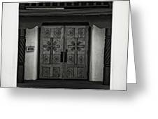 Doors Of Opportunity Greeting Card
