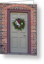 Doors Of Williamsburg 106 Greeting Card
