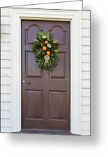 Doors Of Williamsburg 107 Greeting Card