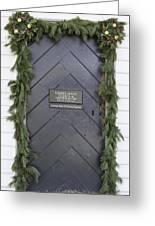 Doors Of Williamsburg 49 Greeting Card
