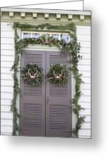 Doors Of Williamsburg 52 Greeting Card
