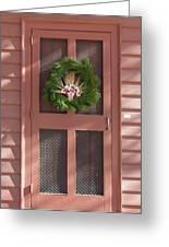 Doors Of Williamsburg 87 Greeting Card