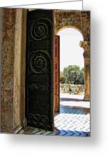 Doors To All Nations Greeting Card