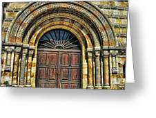 Doors To Holiness Greeting Card