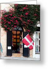 Doorway Malta Greeting Card