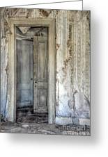 Doorway To Doors Greeting Card