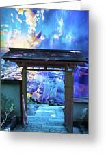 Doorway To Heaven Greeting Card
