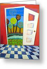 Doorway To Somewhere Greeting Card