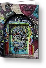 Doorway Wiiliamsburg Brooklyn Greeting Card