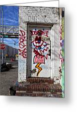 Doorway Willaimsburg Greeting Card
