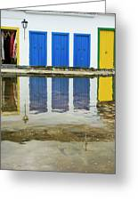 Doorways In Paraty  Greeting Card
