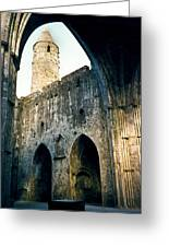 Doorways To The Cashel Castle Greeting Card