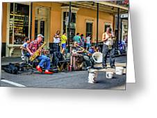 Doreen's Jazz New Orleans 2 Greeting Card