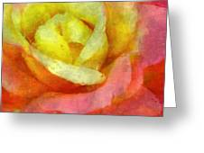 Dorie's Rose Greeting Card