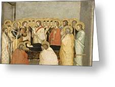 Dormition Of The Virgin Greeting Card