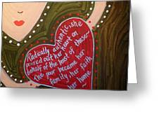 Dorothy Day Greeting Card